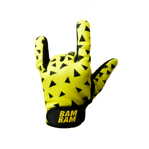 Bambam_Gloves_Fabric_Classic_Yellow